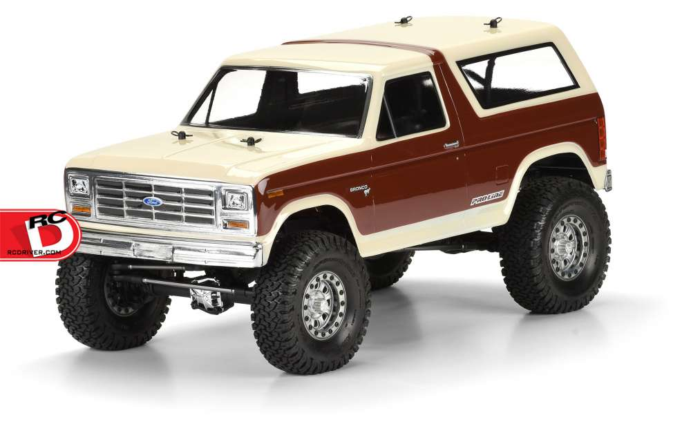 Pro-Line - 1981 Ford Bronco Clear Body copy