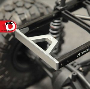 ST Racing Concepts - CNC Machined Aluminum Chassis Rail Brace and Bumper mount for Axial SCX10_2 copy