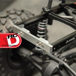 ST Racing Concepts - CNC Machined Aluminum Chassis Rail Brace and Bumper mount for Axial SCX10_5 copy
