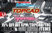 15% Off All GPM, TopCad, TRC Aluminum Parts in Black and Gun Metal at AsiaTees