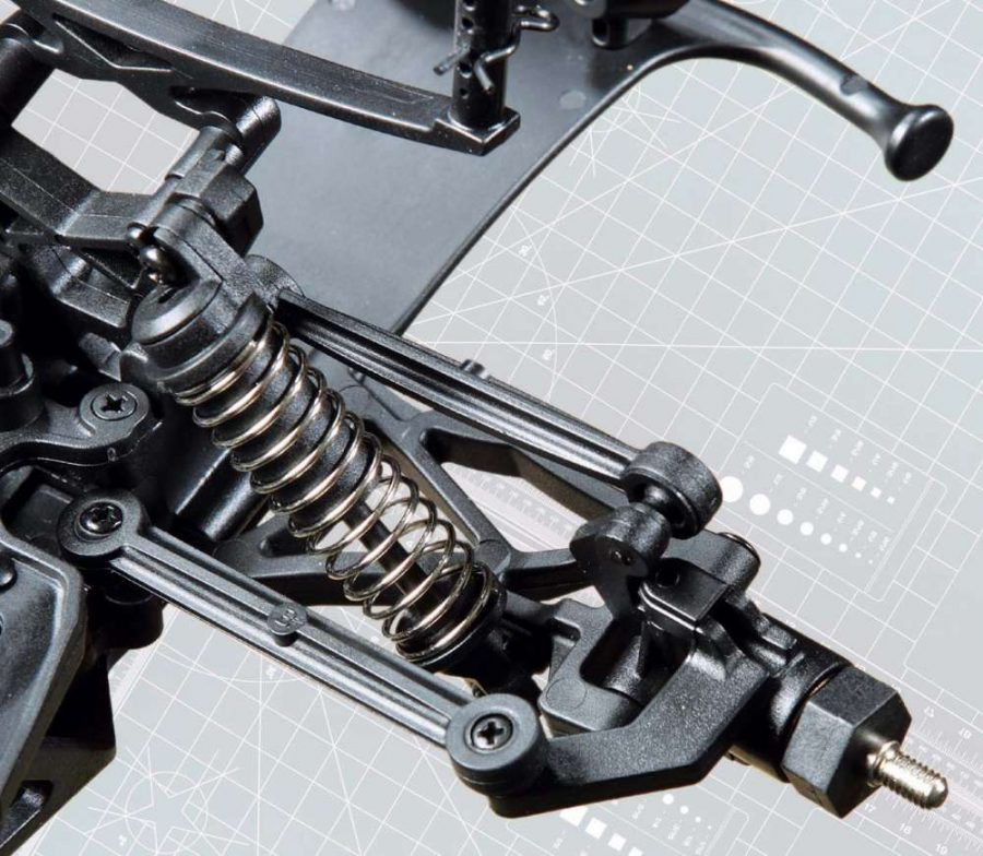 The sealed transmission on the Verdikt is designed to keep as much debris out as possible.