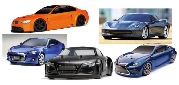 Five Top RTR On-Road RC Cars