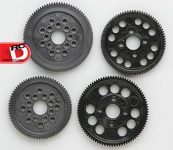 Duratrax 48 and 64-Pitch Spur Gears