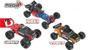 MEGA Series Vehicle Updates for 2016 from ARRMA