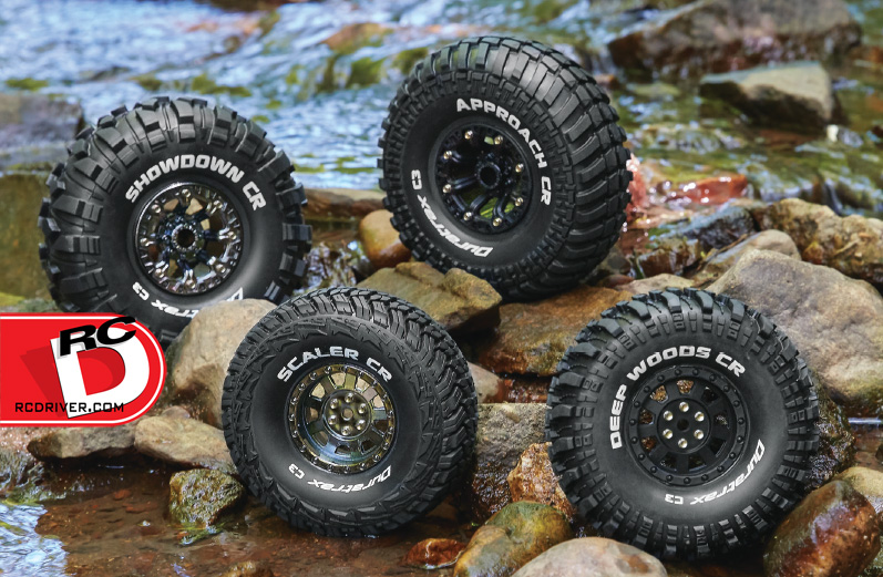 New Tire Choices for 1/8 Scale Buggies, Dirt Oval Racers and Rock