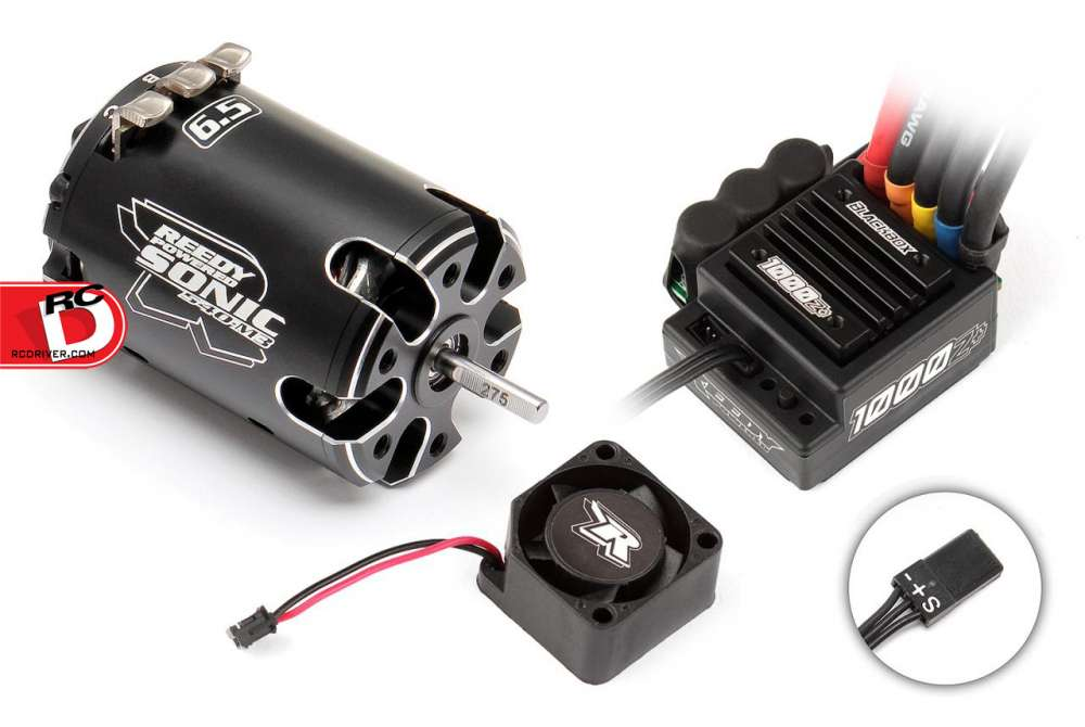 Team Associated - Reedy Blackbox 1000Z+ ESC - Sonic 540-M3 Combos copy