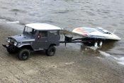 Review of RC4WD's Big Dog 1/10 Dual Axle Scale Boat Trailer