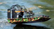 Aquacraft's Brushless Electric RTR Airboat, The Cajun Commander