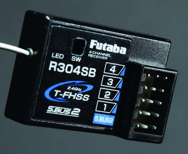 Futaba 4GRS Twin Stick Transmitter for RC Cars and Boats-7