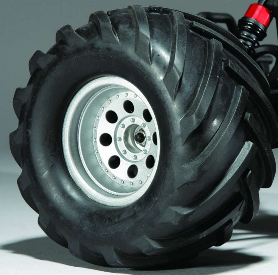 The big V Tread style Swampers are ready to get through pretty much any soil condition you can find in all seasons.