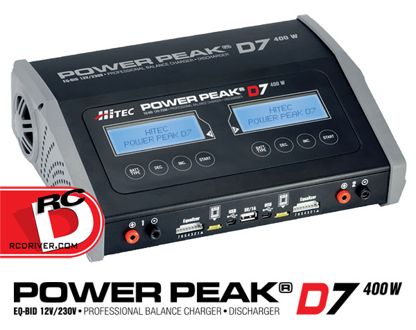 Hitec - Power Peak D7 AC-DC Balance Charger-Discharger copy