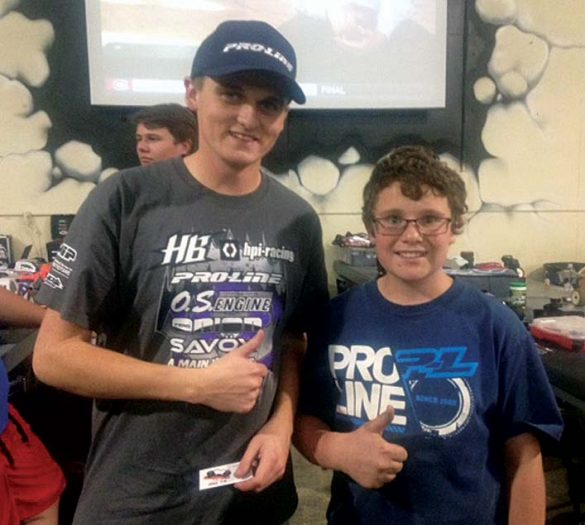 Adam had the opportunity to meet Ty Tessman at IERC for the Gunsmoke Challenge in November of 2014.