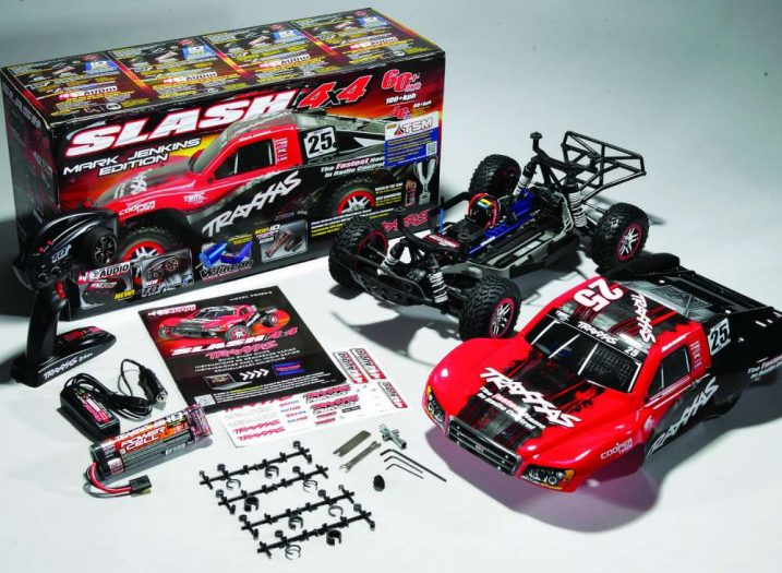 RC Truck Review- Traxxas Slash with On Board Audio-34