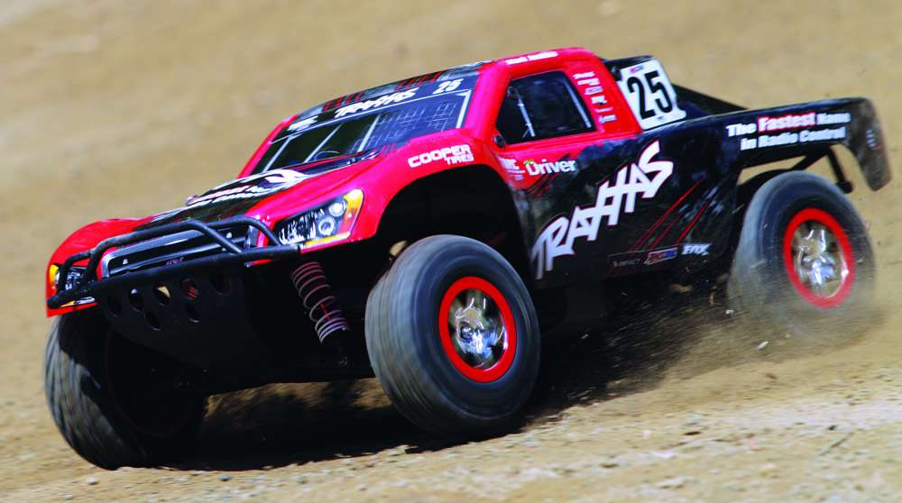RC Truck Review- Traxxas Slash with On Board Audio-59