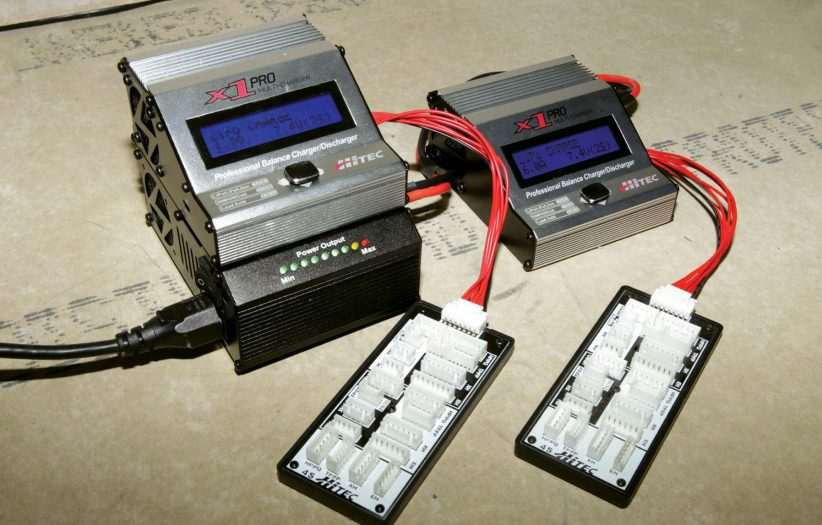 Connecting Two Hitec X1 Pro Multi Chargers to the Hitec 17A ePower Box-2