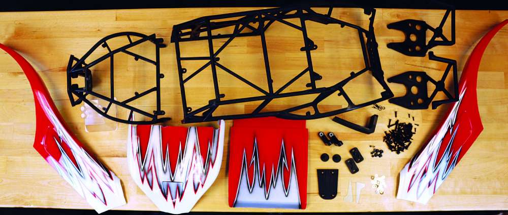 How To Install the SX5 Sand Rail Conversion from Kraken RC on the HPI Baja-2