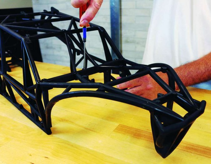 How To Install the SX5 Sand Rail Conversion from Kraken RC on the HPI Baja-3