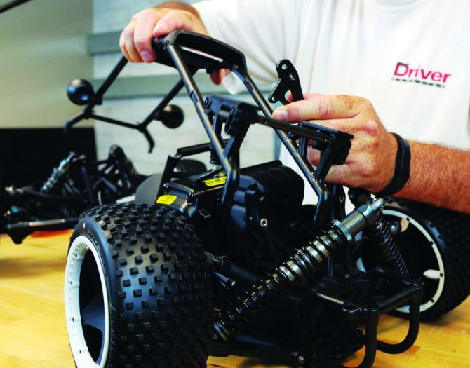 How To Install the SX5 Sand Rail Conversion from Kraken RC on the HPI Baja-7