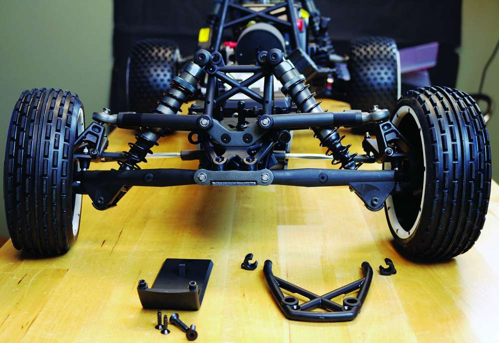 How To Install the SX5 Sand Rail Conversion from Kraken RC on the HPI Baja-8