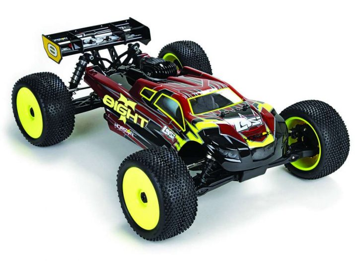 Losi 8IGHT-T Gas Truggy Hop Ups-1