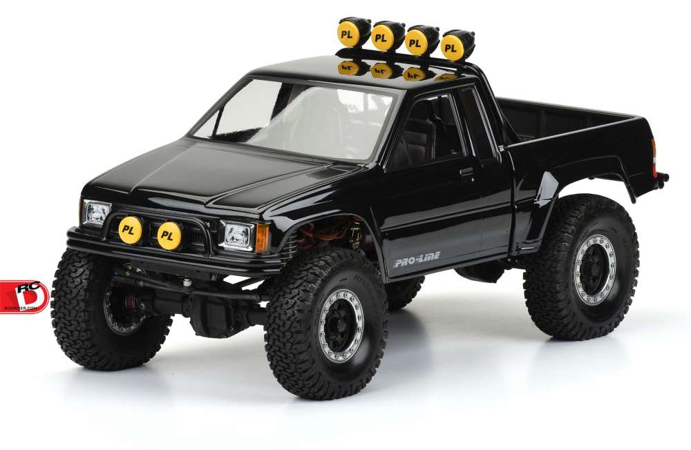 1985 Toyota Hilux Sr5 Clear Body From Pro Line Rc Driver