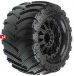 Destroyer 2.8″ All Terrain Tires Mounted on Black F-11 Wheels