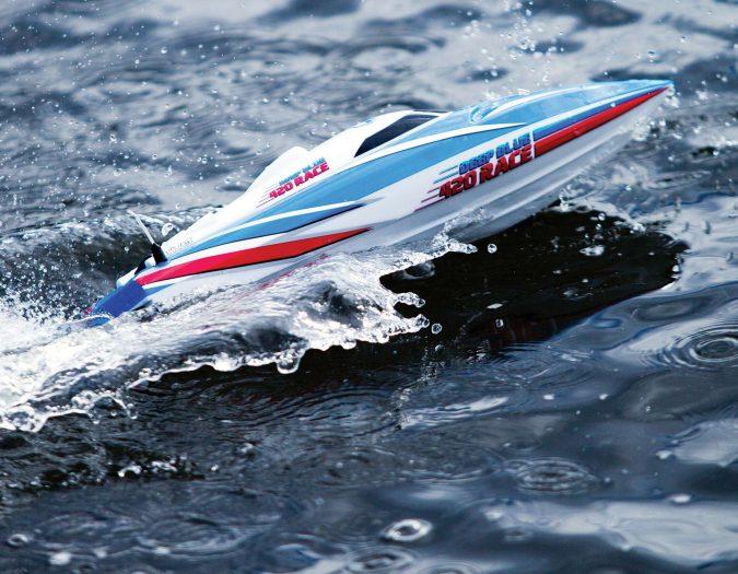 Review DEEP BLUE 420 RACE-21