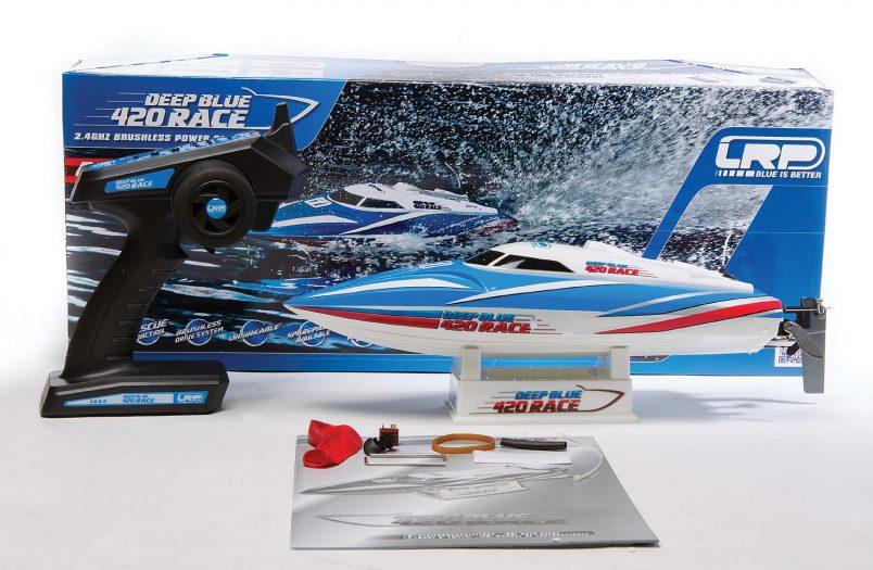 Review DEEP BLUE 420 RACE-8