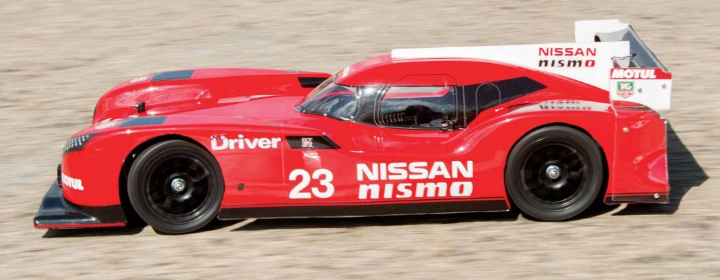 Review Nissan GT-R LM Nismo Launch F103GT-23