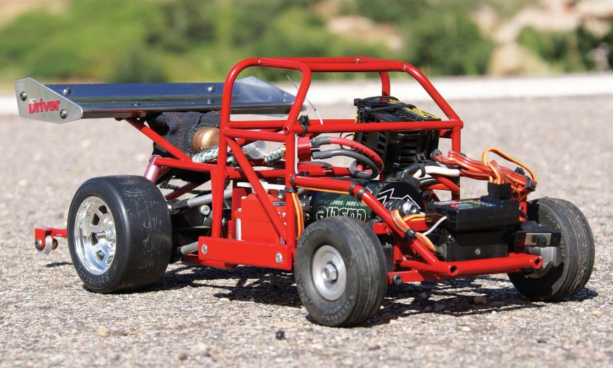 Beneath the Midnight Pumpkin body hides a full tube frame chassis