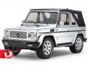 Mercedes-Benz G 320 Cabrio MF-01X with Silver Painted Body from Tamiya