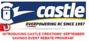 Check Out The September Rebate Savings at Castle Creations