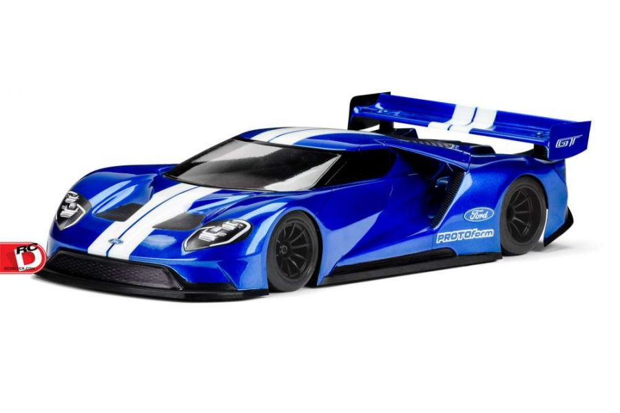 Protoform Ford Gt Clear Body Copy