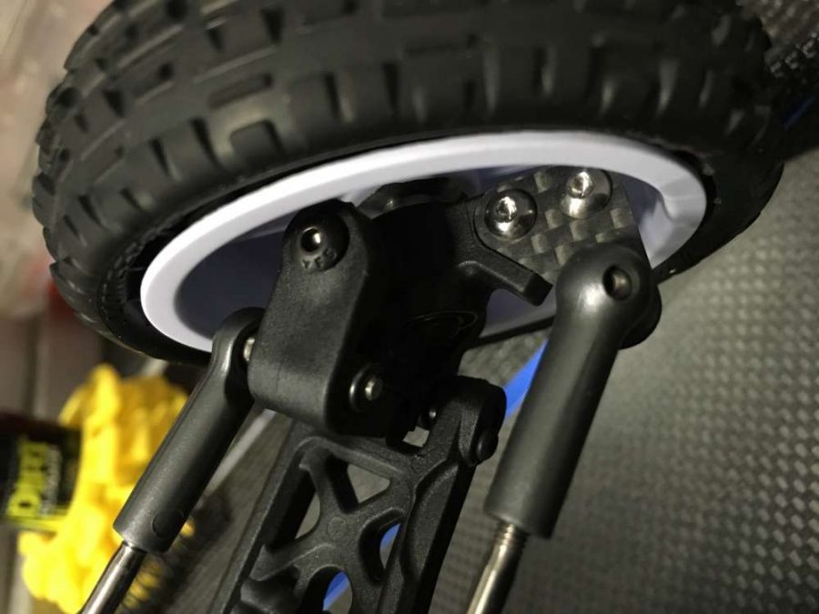 Look for these carbon fiber steering plates to be on the market very soon