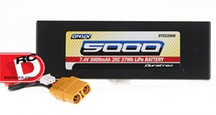 Onyx 2S 7.4V 5000mAh 35C LiPo battery