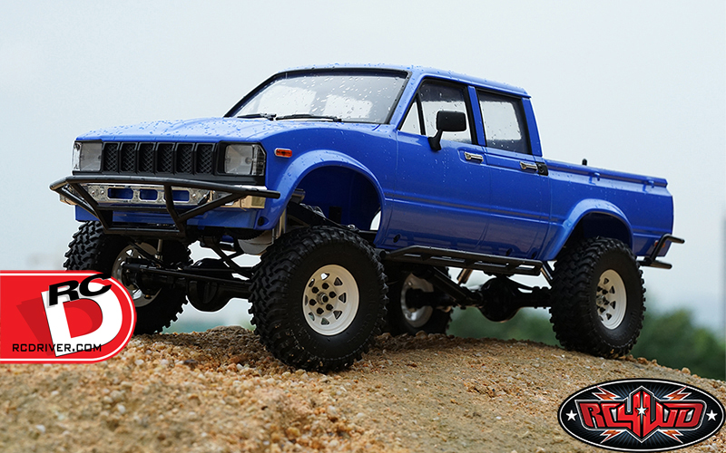 "Trail Finder 2 Truck Kit ""LWB"" with Mojave II Four Door Body Set"