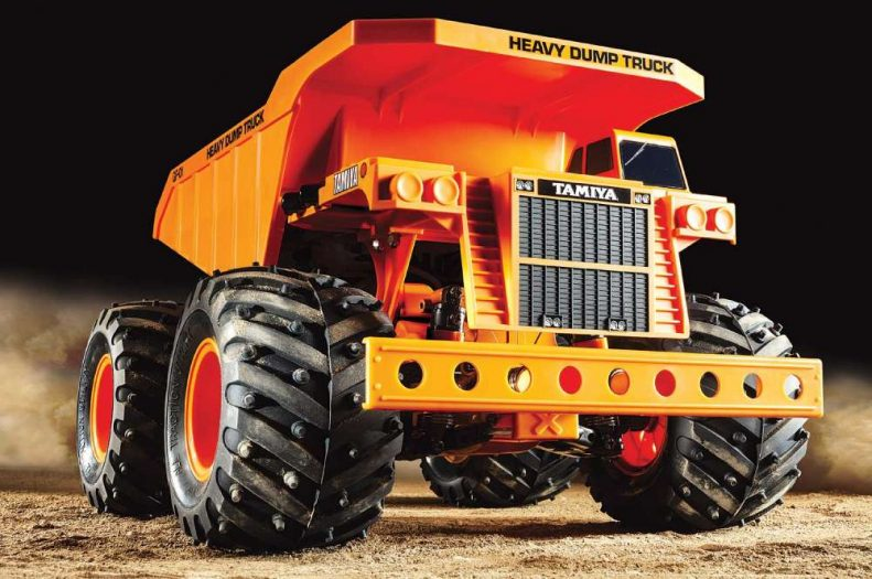Tamiya Heavy Dump Truck – Gf01 Hop Up