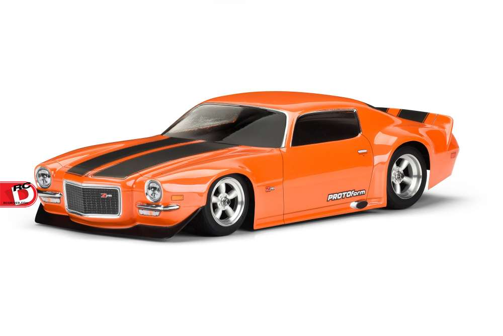 1971 Chevrolet Camaro Z28 Clear Body From Protoform Rc Driver