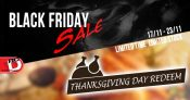 rcMart Thanksgiving Redeem and Black Friday Sale!