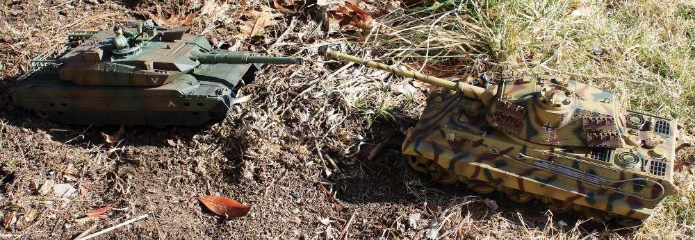 VS Tanks 1/24 Battle Tanks