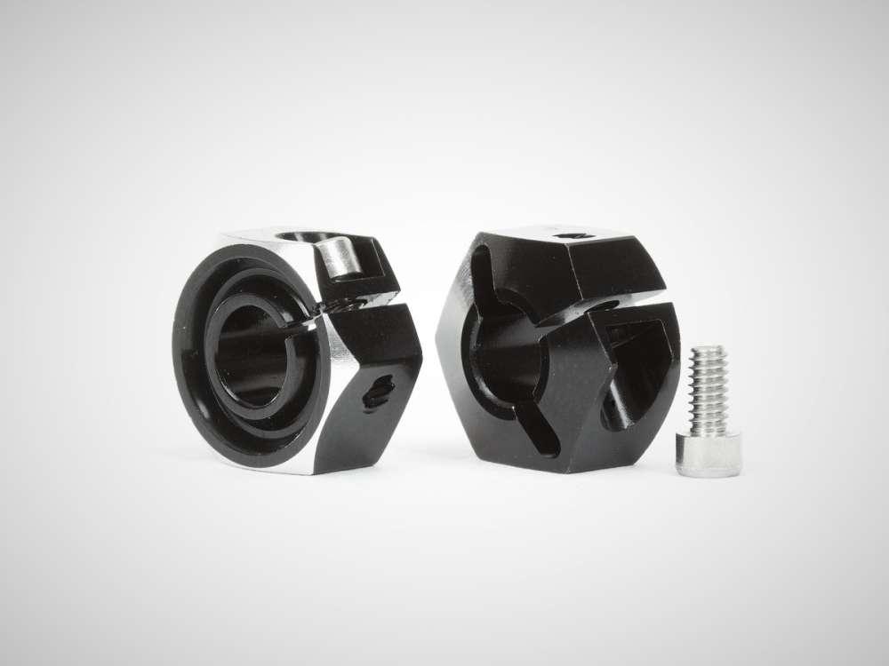 Avid Clamping Hexes AVID's new Black Anodized Aluminum B6 Clamping Hex Adapters