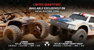 Axial Racing - Yeti Jr. Rock Racer and Yeti Jr. Score Trophy Truck (3)