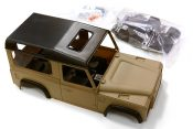 Integy 1/10 scale LR Type D90 Hard Plastic Body Kit