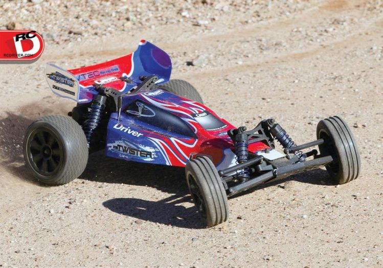 LRP S10 Twister Ready To Run 2wd Buggy