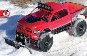 Build Your Own RC Snow Plow With Axial's SCX10