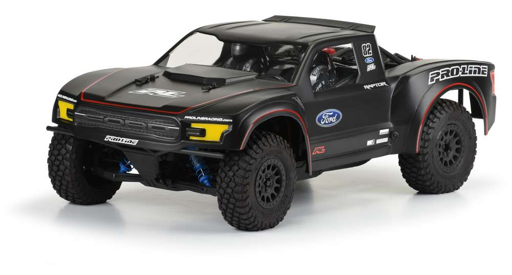 Pro-Line Racing - 2017 Ford F-150 Raptor Clear body for the Yeti Trophy Truck