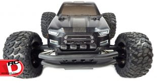 T-Bone Racing - XV4 Front Bumper with LED Lights for the Big Rock _1 copy