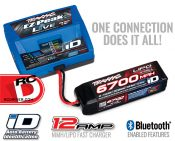 EZ-Peak Live 12-amp NiMH/LiPo Fast Charger with iD Auto Battery Identification and Bluetooth