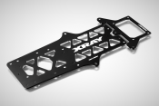 XRAY X12'17 Option Aluminum Chassis & Rear Pod