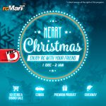 Santa Stops at rcMart! Christmas Promotion!